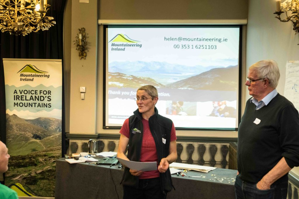 Wild Atlantic Walking Tours at Mountaineering Ireland regional meeting