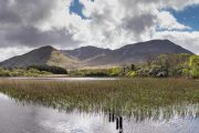 Diamond hill seen from Kylemore-